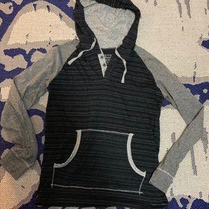 Hooded long sleeve tee